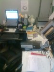 >a tidy desk is a sign that you do not have enough to do...