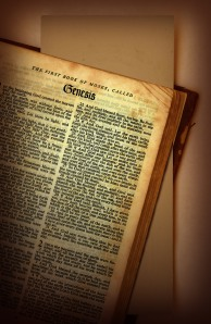 Open Bibles are generally easier to read than closed ones.