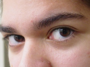 How high are your brows?