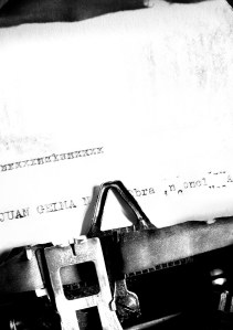 typewriter - permission for blog