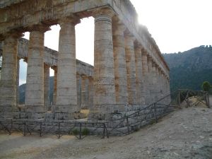 Okay, it's not Solomon's Temple but one at Segesta in Sicily. Photo (c) me