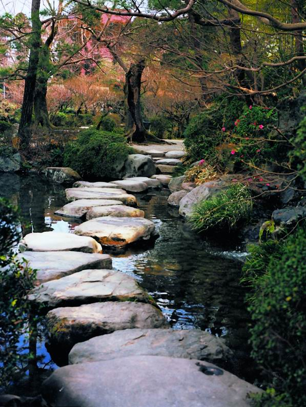 haiku stepping stones