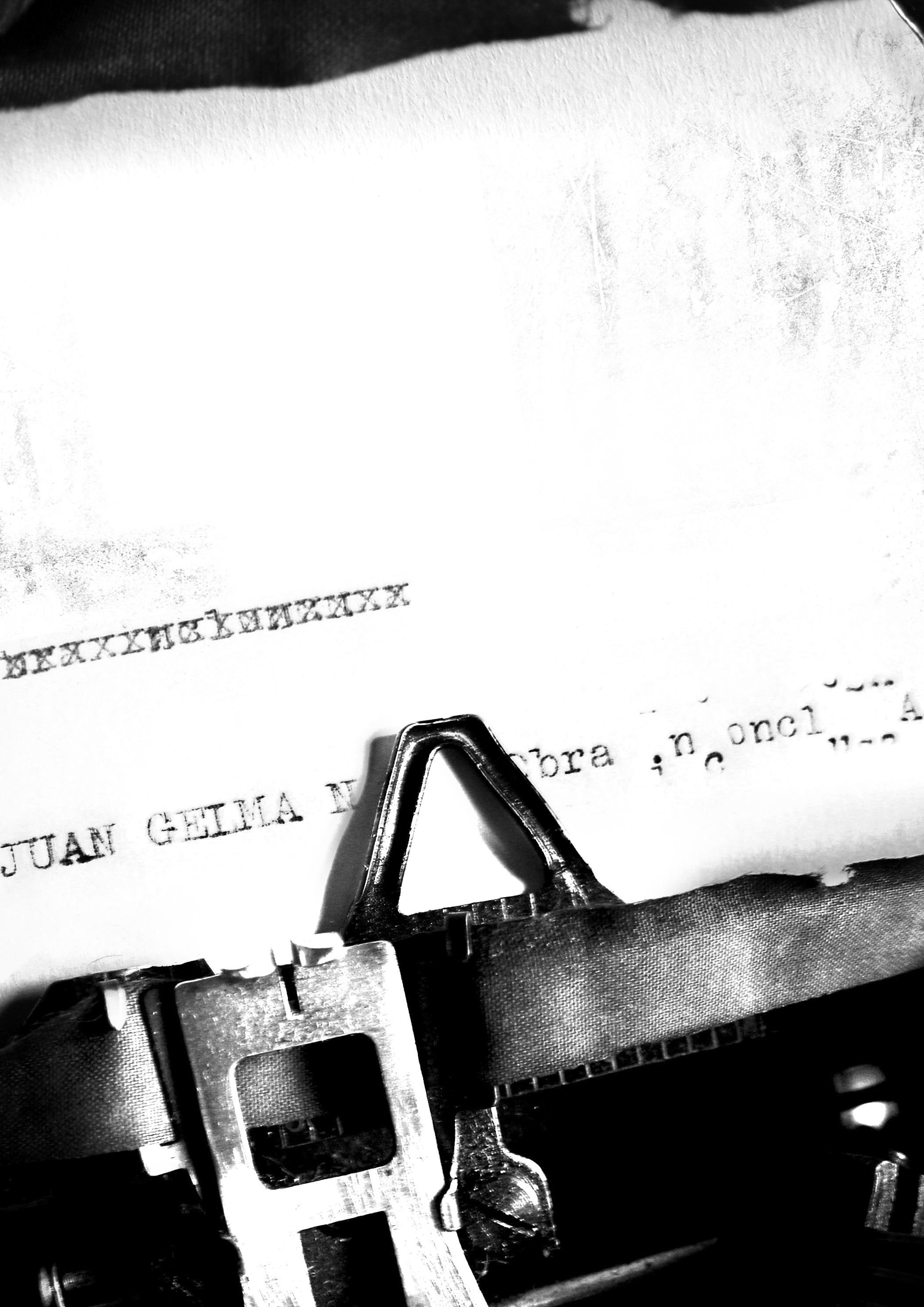 typewriter - permission for blog