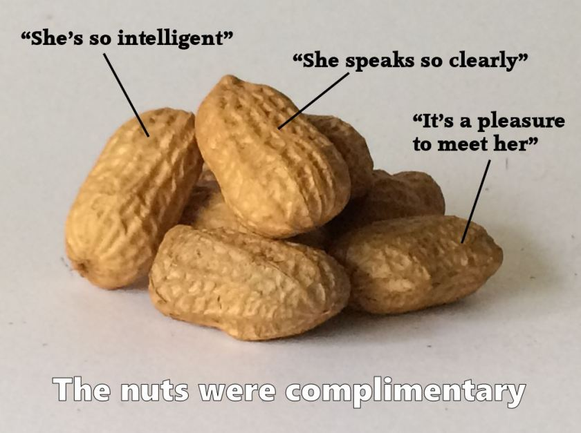 complimentary nuts